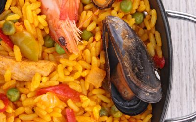 Spaanse Paella met Saffraan