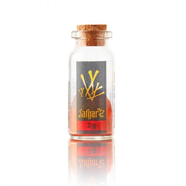 Saffraanpoeder 2 gram flesje