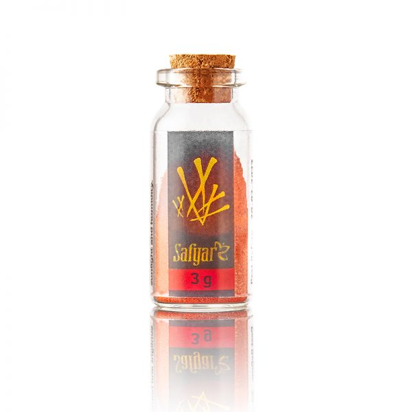 Saffraanpoeder 3 gram flesje
