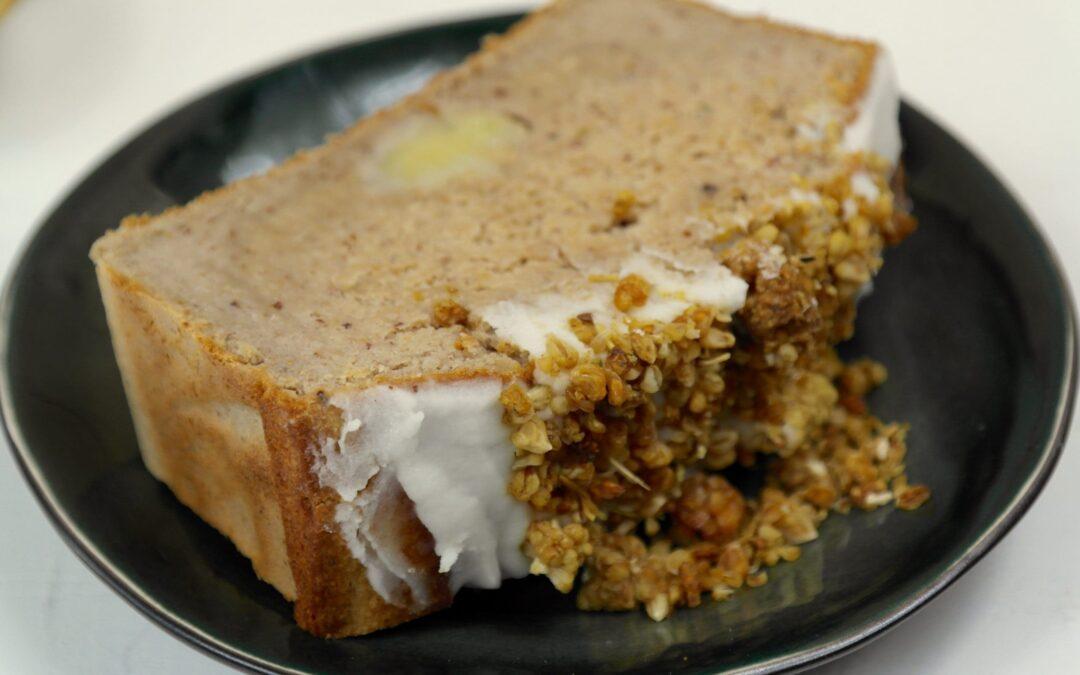 Saffraan Banaan Cake