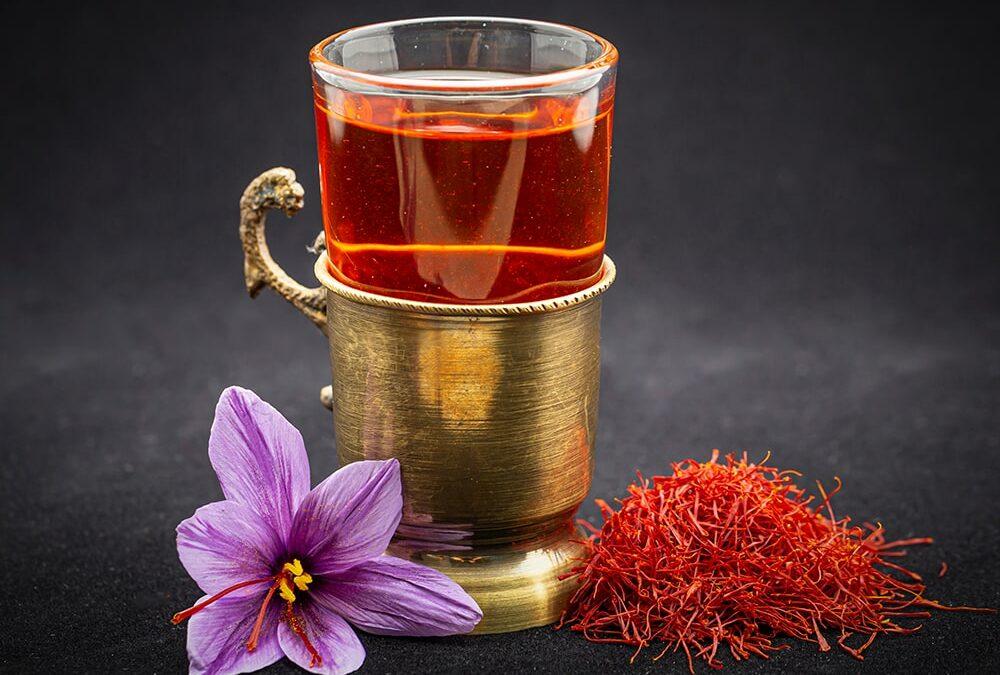 Saffraan thee (puur!)